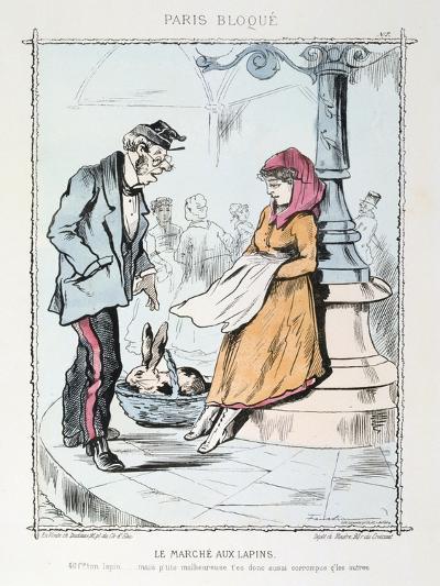 Le Marche Aux Lapins, 1870-1871--Giclee Print