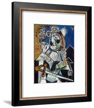 Le matador-Pablo Picasso-Framed Art Print