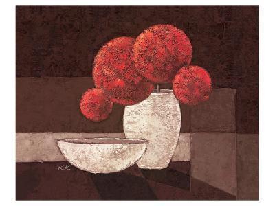 Le Milieu Rouge-Karsten Kirchner-Art Print