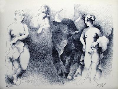 Le Minotaure-Manolo Ruiz Pipo-Collectable Print