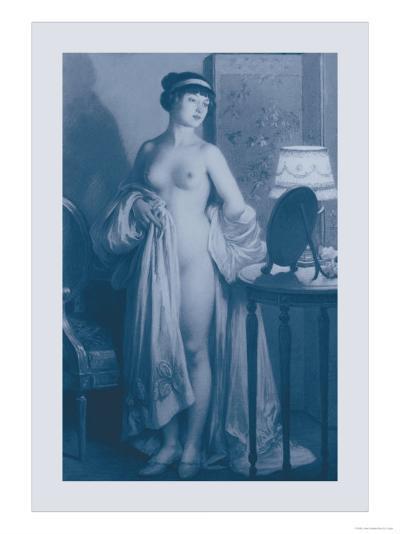 Le Miroir-Jules Scalbert-Art Print