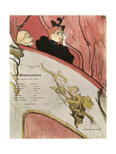 Le Missionaire, 1894-Henri de Toulouse-Lautrec-Giclee Print