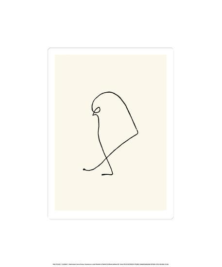 Le Moineau, c.1907-Pablo Picasso-Serigraph