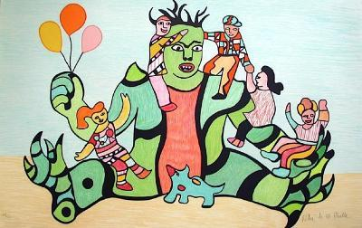 Le Monstre-Niki De Saint Phalle-Limited Edition