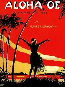 Aloha Oe (Farewell To Thee) by Le Morgan
