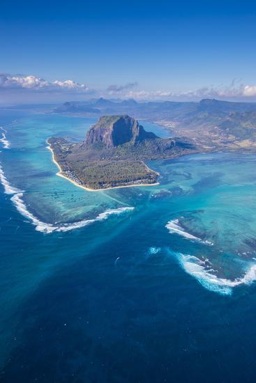 Le Morne Brabant Peninsula, Black River (Riviere Noire), West Coast, Mauritius-Jon Arnold-Photographic Print