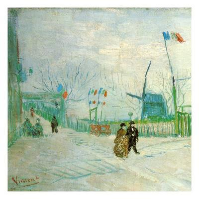 Le Moulin A Poivre (Détail 1)-Vincent van Gogh-Art Print