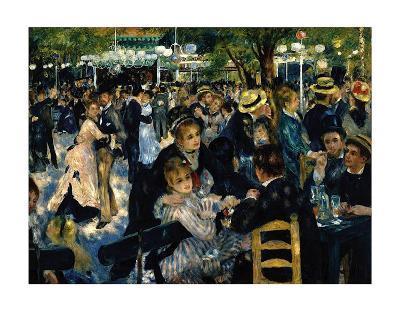 Le Moulin de la Galette c.1876-Pierre-Auguste Renoir-Art Print