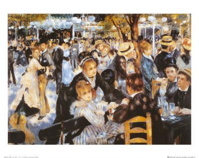Le Moulin de la Galette-Pierre-Auguste Renoir-Art Print