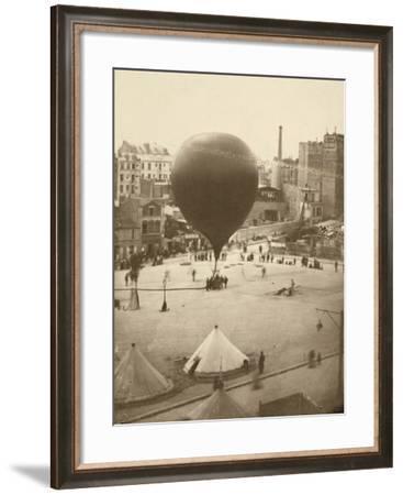 Le Neptune, Place Saint-Pierre À Montmartre, September 23, 1870-Nadar-Framed Photographic Print