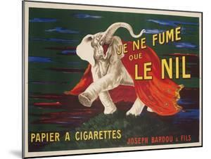 Le Nil Rolling Paper Vintage Advertising Poster