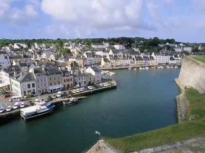 Le Palais, Belle Ile En Mer, Breton Islands, Morbihan, Brittany, France-Bruno Barbier-Photographic Print