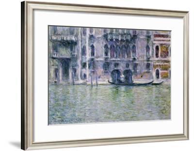 Le Palais Da Mula-Claude Monet-Framed Giclee Print