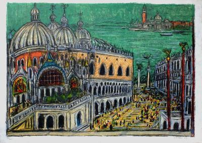 Le Palais de Doges-Andr? Cottavoz-Limited Edition