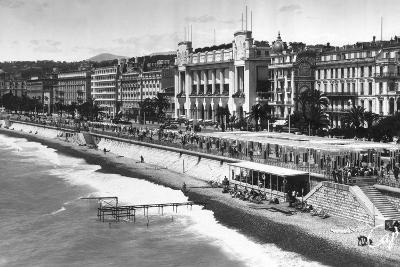 Le Palais De La Mediterranee on Promenade Des Anglais, Nice, South of France, Early 20th Century--Giclee Print