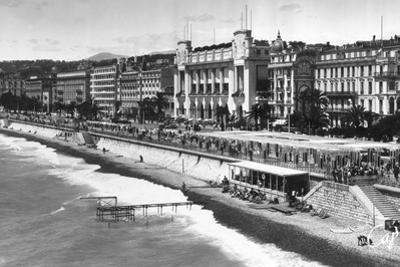Le Palais De La Mediterranee on Promenade Des Anglais, Nice, South of France, Early 20th Century