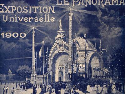 'Le Panorama', Exposition Universelle, Paris, 1900--Photographic Print