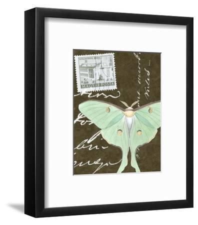 Le Papillon Script I--Framed Art Print