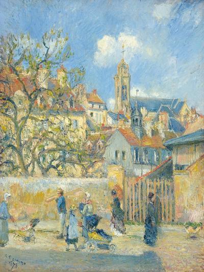 Le Parc Aux Charrettes, Pontoise, 1878-Canaletto-Giclee Print