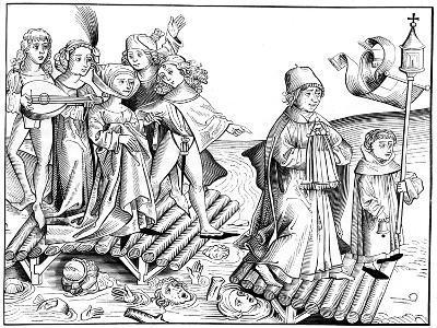 Le Passage Du Viatique, 1493-Pierre Wolgmuth-Giclee Print