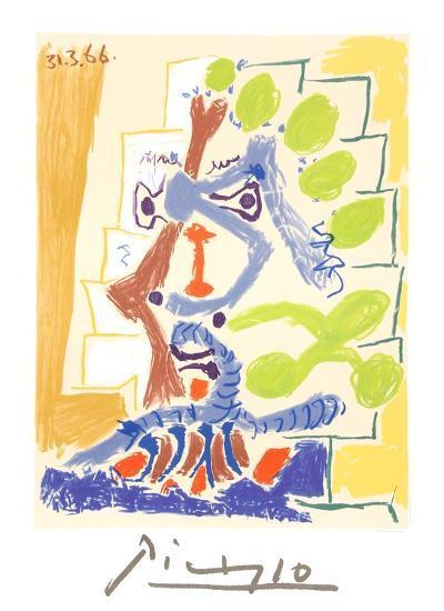 Le Peintre-Pablo Picasso-Collectable Print