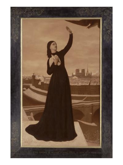 Le Pigeon-Pierre Puvis de Chavannes-Giclee Print