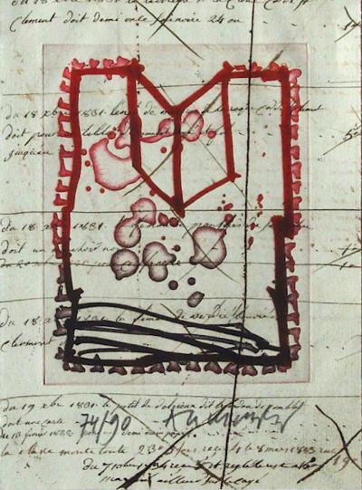 Le pinceau voyageur-Pierre Alechinsky-Limited Edition