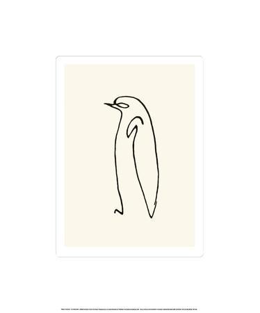 Le Pingouin C 1907 Serigraph By Pablo Picasso