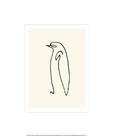 Le Pingouin, c.1907-Pablo Picasso-Serigraph