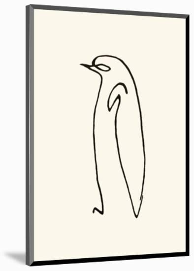 Le Pingouin, c.1907-Pablo Picasso-Mounted Serigraph