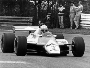 Le Pitote Automobile Britannique John Marshall Watson Lors Du Prix De Belgique Au Circuit De Zolder
