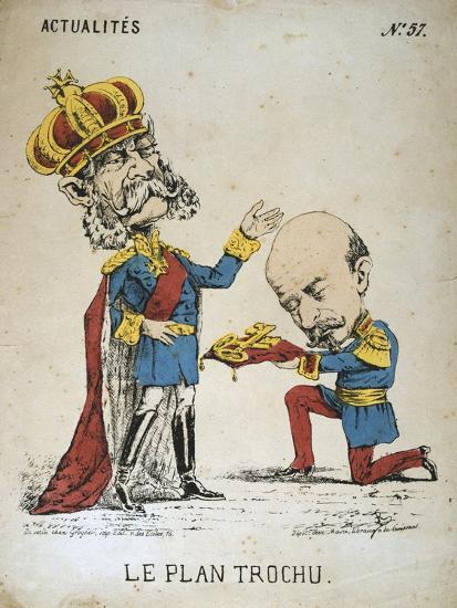 Le Plan Trochu, 1870-1871--Giclee Print