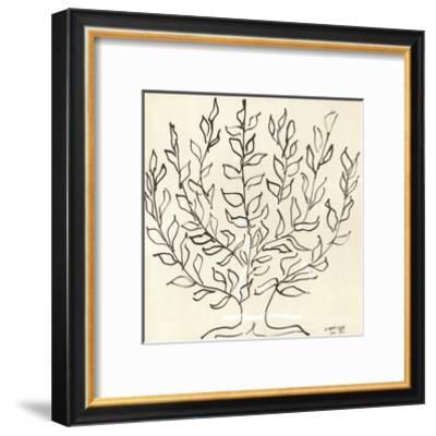 Le Platane-Henri Matisse-Framed Art Print