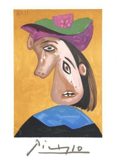 Le Pleureuse-Pablo Picasso-Collectable Print