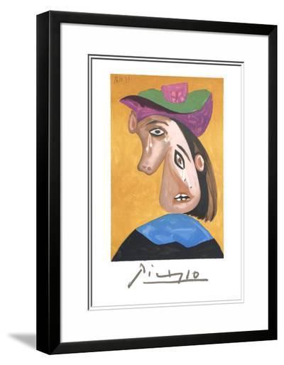 Le Pleureuse-Pablo Picasso-Framed Art Print