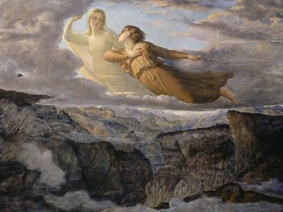 Le Poème de l'âme. L'Idéal-Louis Janmot-Giclee Print