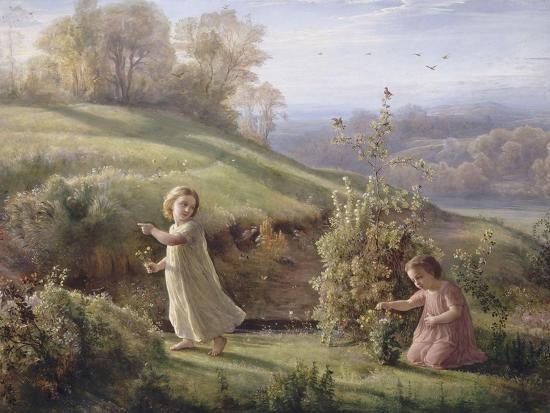 Le Poème de l'âme. Le printemps-Louis Janmot-Giclee Print