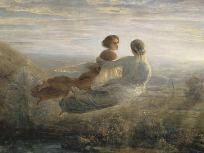 Le Poème de l'âme. Le vol de l'Âme-Louis Janmot-Giclee Print