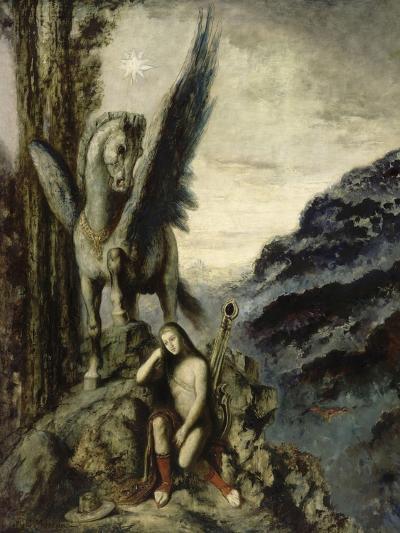 Le Poète voyageur-Gustave Moreau-Giclee Print