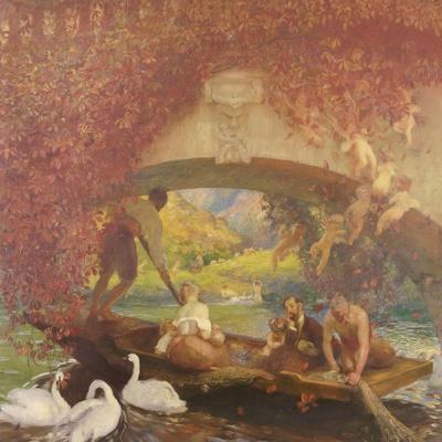 Le poète-Gaston De La Touche-Giclee Print