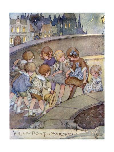Le Pont D'Avignon-Anne Anderson-Giclee Print
