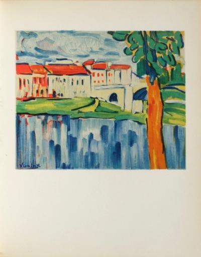 Le Pont de Chatou, 1906-Maurice De Vlaminck-Collectable Print