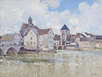 Le Pont De Moret, 1888-Alfred Sisley-Giclee Print