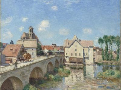 Le Pont de Moret-Alfred Sisley-Giclee Print