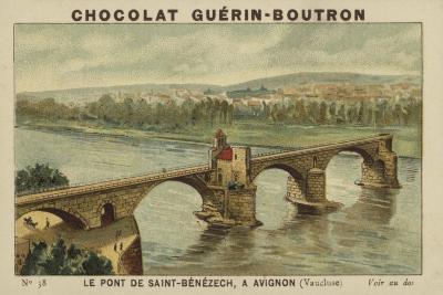 Le Pont De Saint-Benezech, a Avignon, Vaucluse--Giclee Print