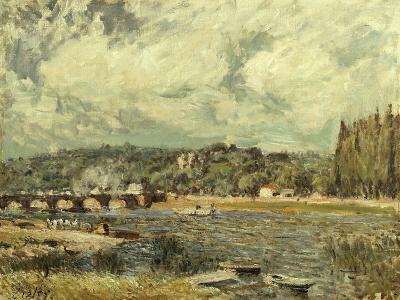 Le Pont De Sevres, 1877-Alfred Thompson Bricher-Giclee Print