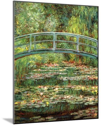 Le Pont Japonais a Giverny-Claude Monet-Mounted Print