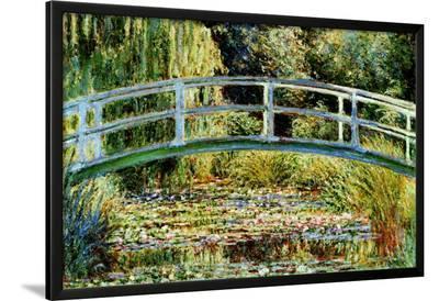 Le Pont Japonais a Giverny-Claude Monet-Lamina Framed Poster
