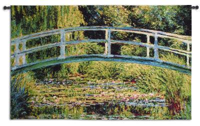 Le Pont Japonais-Claude Monet-Wall Tapestry