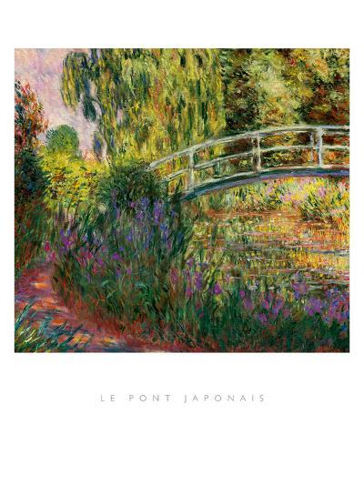 Le Pont Japonais-Claude Monet-Art Print